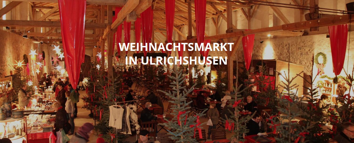 Weihnachtsmarkt im Schloss Ulrichshusen